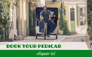 Bouton Taco&co Pedicab