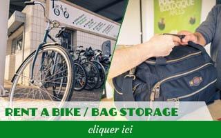 Bouton Taco&co rent a bike