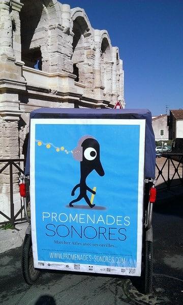 Les promenades sonores d'Arles : A écouter avec Taco and Co