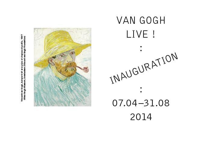 Ouverture de la Fondation Van Gogh le 7 avril 2014 à Arles.