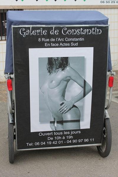 Festival européen de la photo de nue, Galerie de Constantin, Arles