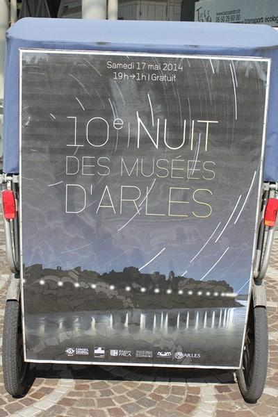 Nuit des musées à Arles