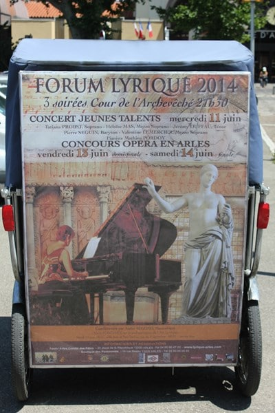 Forum Lyrique international d'Arles du 10 au 14 juin 2014