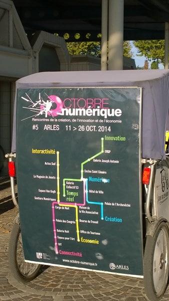Octobre Numérique du 11 au 26 octobre 2014 en Arles