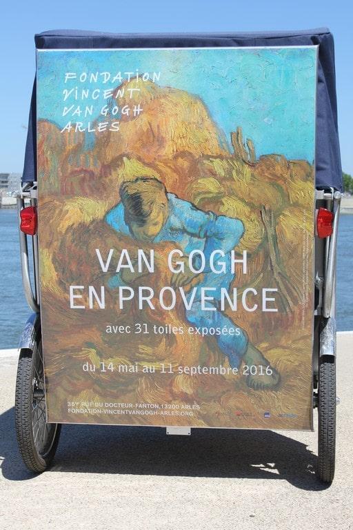 31 toiles de Vincent Van Gogh à Arles (Copier)
